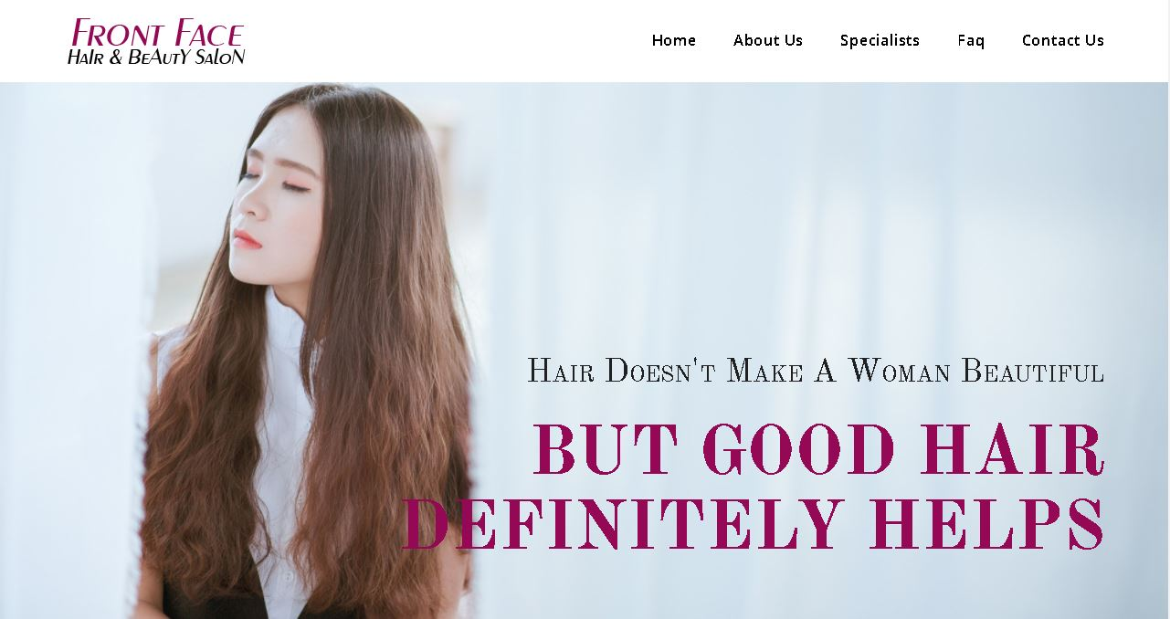 Hair Salon Website