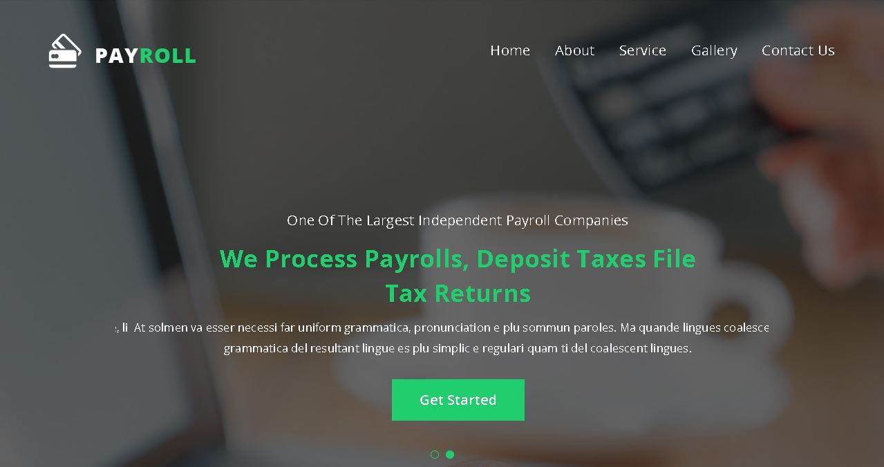 Payroll Services Website