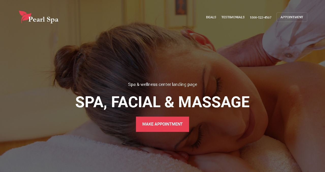 Spa Salon Website